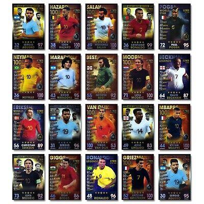MATCH ATTAX World Cup 2014 LE3 Cristiano Ronaldo Argent édition Limitée Carte