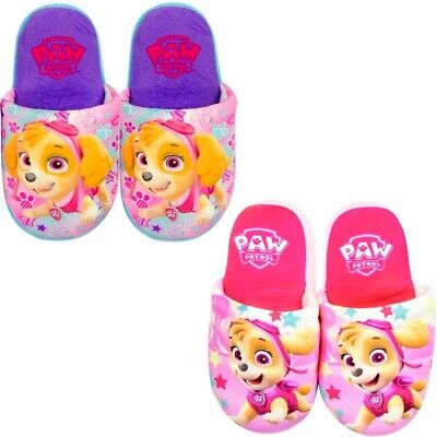 Official Paw Patrol Girls Slippers Warm Comfy Children/'s Size 6-13 UK  25-32 EU