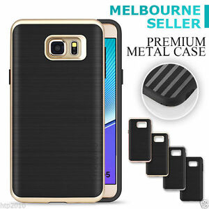 Genuine-Motomo-Metallic-Bumper-TPU-Dual-Case-For-Samsung-Galaxy-Note-5-AU