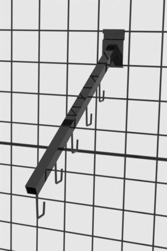 """16/"""" Waterfall Metal Gridwall Faceout Hook Gridwall Hanging Bracket J Hook"""