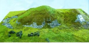 Javis-JHILL-1-2-3-Rough-Terrain-Mats-Wargames-Model-Rail-Dioramas-Scenics