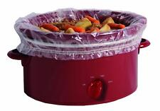 PanSaver Slow Cooker Liners with a Sure Fit Band 4 Count fits 3 qt to 6.5