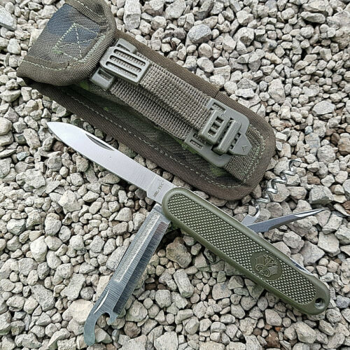 Armee Messertasche Outdoorset Militär Bunderwehr Survival BW Taschenmesser