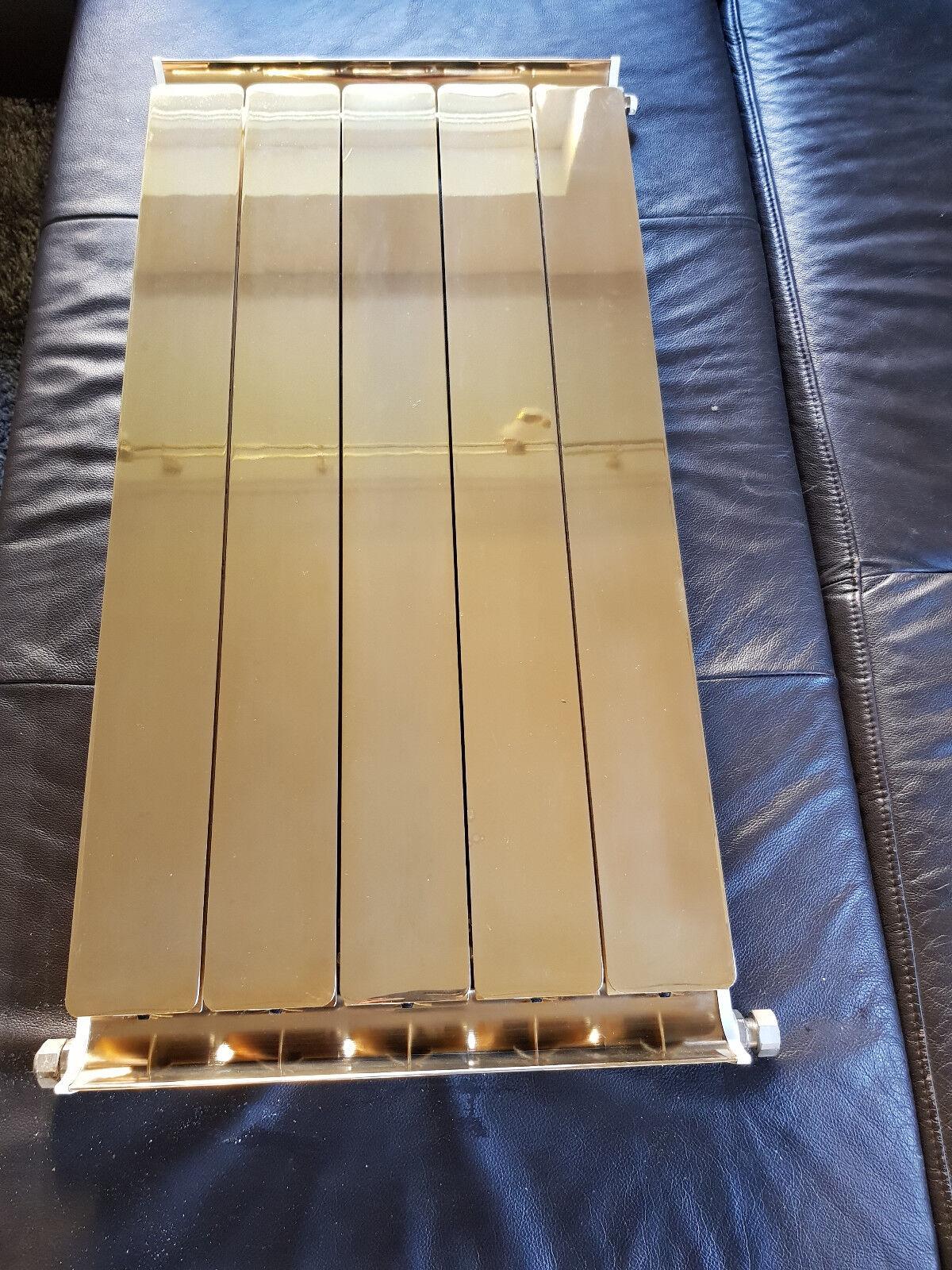 Heizkörper Aluminium Alu Heizkörper verGoldet VIP extravagant aussergewöhnlich