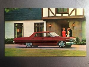 1963-Chevrolet-Impala-Sport-Coupe-Postcard-Post-card-Collector-card-RARE-Awesome