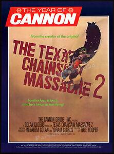 THE-TEXAS-CHAINSAW-MASSACRE-2-Original-1986-Trade-AD-promo-poster-TOBE-HOOPER