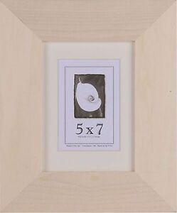5x7 unfinished wood frames 1 5 inch wide diy picture frame. Black Bedroom Furniture Sets. Home Design Ideas