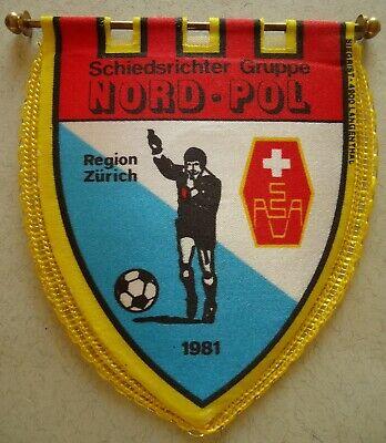 alter Wimpel Schiedsrichter Verband Region Nordwestschweiz # 8 x 10 cm # 299