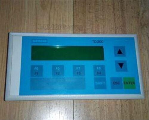 Verwendet 1 Stücke Siemens TD200 6ES7 272-0AA30-0YA1 6ES7272-0AA30-0YA1 ye