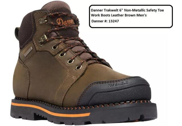 Dickies Cameron Safety Work BOOTS Brown