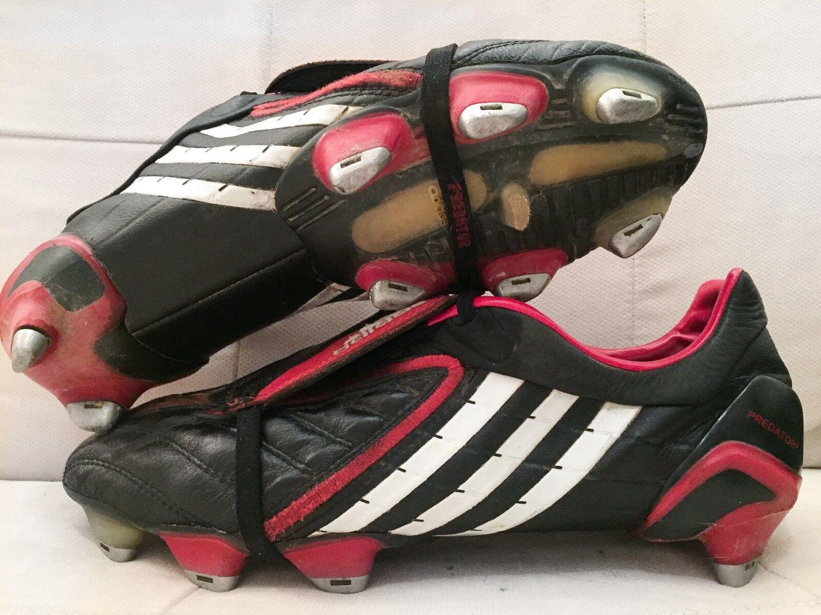 Adidas Projoator Powerswerve manía SG Botines De Fútbol botas US9.5