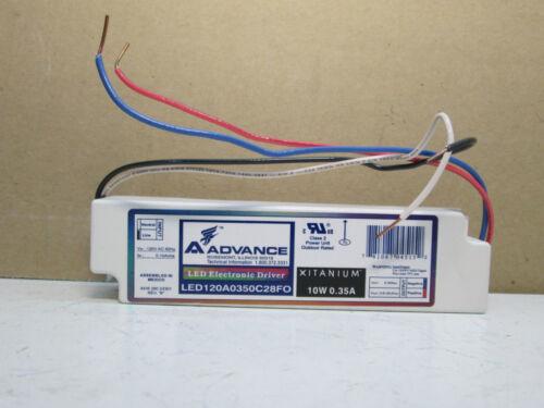 Advance LED120A0350C28FO LED Electronic Driver Xitanium 10W 0.35A Ballast