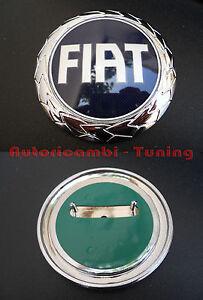 FREGIO-STEMMA-BLU-FIAT-PUNTO-III-DAL-2003-POSTERIORE-95-mm-43-265