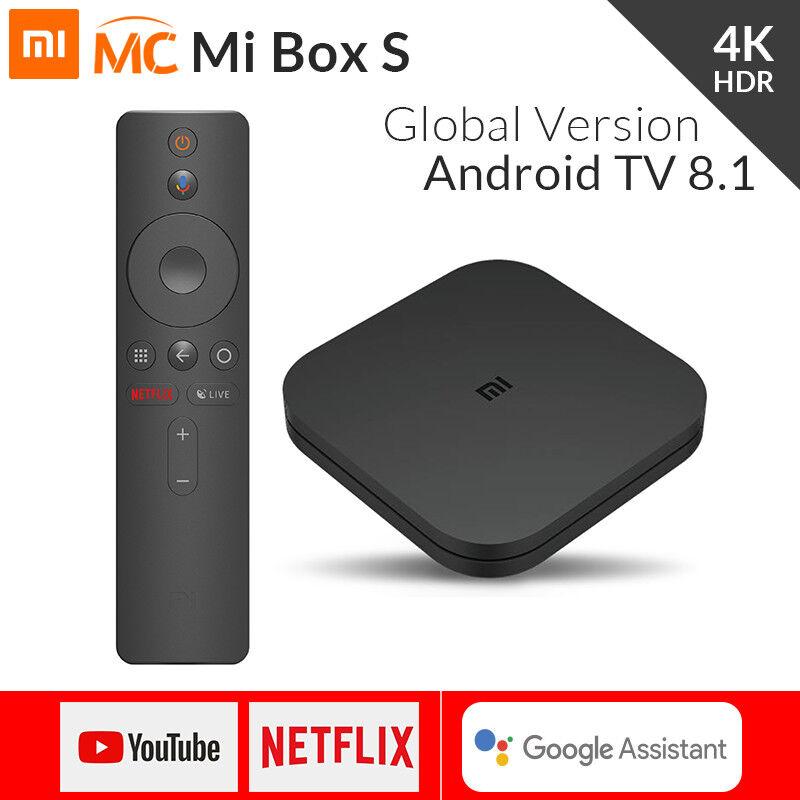 s-l1600 Xiaomi Mi Box S Smart TV Media Player 4K HDR Android 8.1 2GB 8GB Global Version