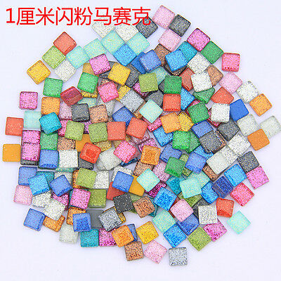 50g Mosaic Tiles Stained Glass Mosaic Crafts Tile - Available In Variety Colors