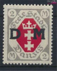 Danzig-D13-postfrisch-1921-Dienstmarke-9222577