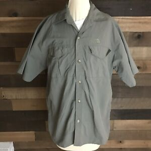 Vintage-North-Face-Vented-Hiking-Camping-Shirt-Mens-Size-Large