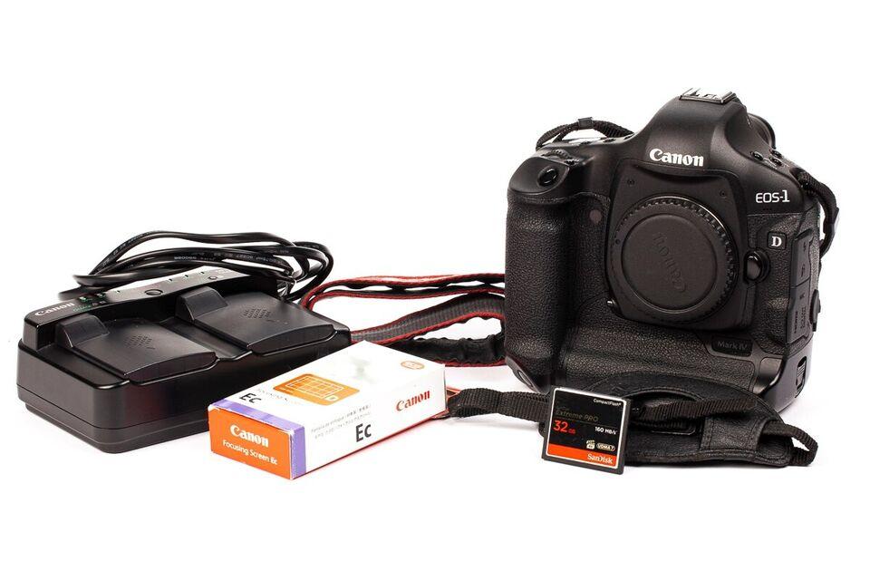 Canon, Canon EOS-1D Mark IV, spejlrefleks