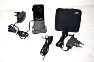 Poste-telephonique-telephone-sans-fil-GIGASET-SL750H-Pro-base-DECT-N150
