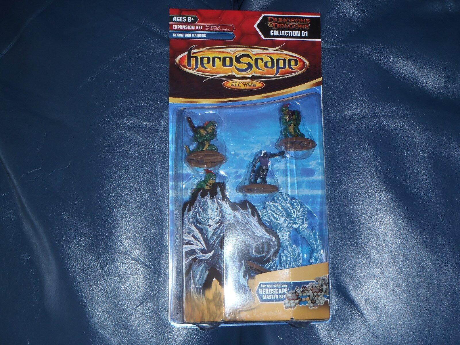 Heroscape Dungeons + Dragons Glaun Bog Raiders  NEW + SEALED