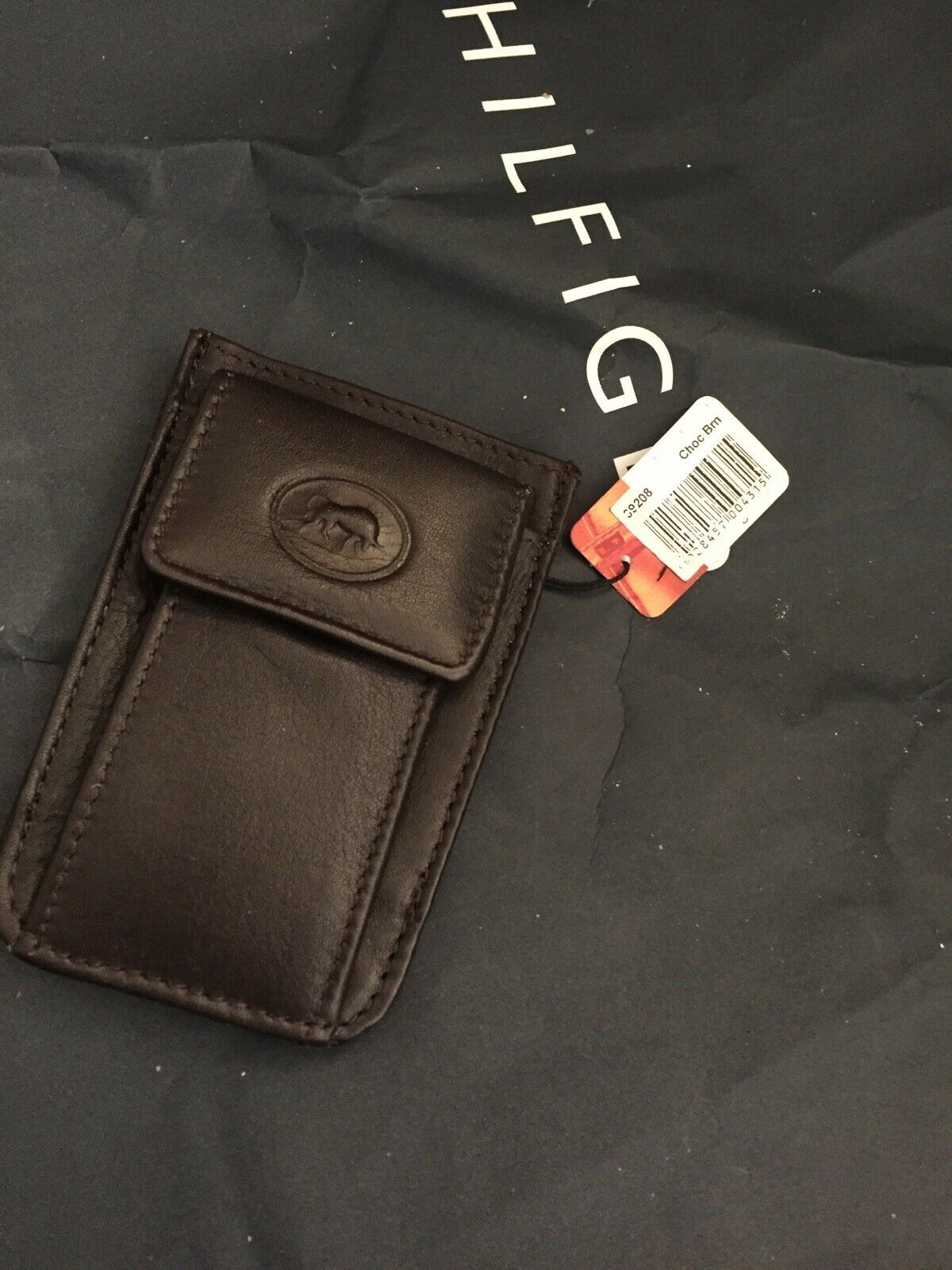 Taurus Choc Brown Pouch Was Now Free Post Too