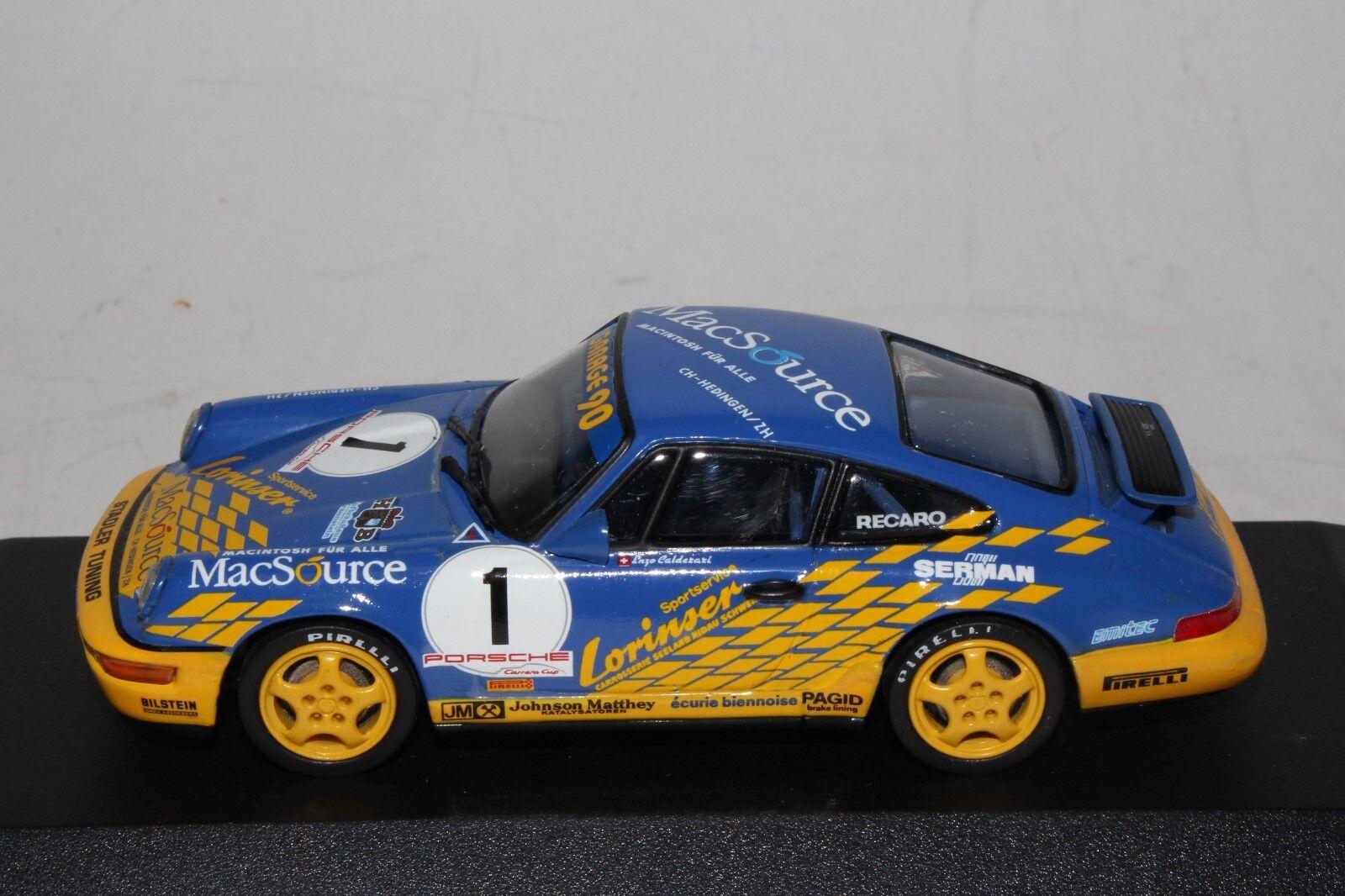 con il 60% di sconto Minichamps  936001 Porsche 911 autorera Coppa 1993 1993 1993 Calderari 1 43 Scala in  Nuova lista