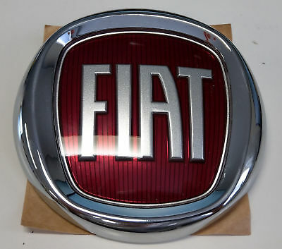 Fiat Panda original Emblem Logo Heckklappe Kofferraum Heck Scudetto 735521414