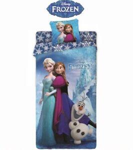 Sacco Copripiumino Disney.Sacco Copripiumino Disney Frozen 2 Pz 100 Cotone Una Piazza Ebay