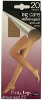 20 Denier Medium Support Tights 4 Colours