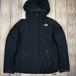 Womens-Vintage-The-North-Face-Hyvent-Jacket-Black-Size-Small