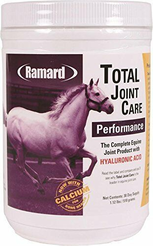 Ramard 079003 Total Joint Care Performance Supplement for horses  1.21 lb 30 Day