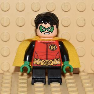 Minifigura-Lego-Robin-SH091-Original-76013-DC-Comics-Super-Heroes