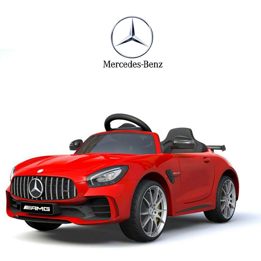 Auto Elettrica Per Bambini Mercedes Benz AMG GTR 12V rouge SoftStart GT-R