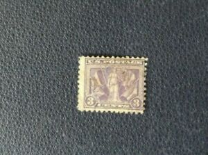Y16-Sello-stamp-USA-US-Pstage-3-cents-violeta-lila-usados