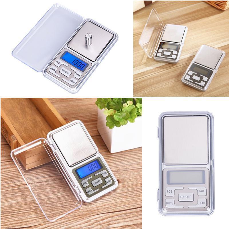 Pocket Digital Gram Scale Jewelry Weight Electronic Balance Scale 500g x 0.01g 2