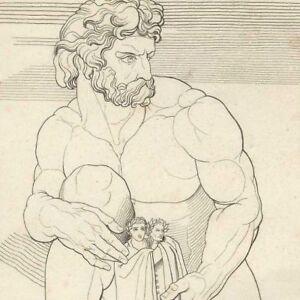 Divine-Comedy-Dante-Virgil-the-Giant-Anthee-John-Flaxman-Engraving-19e