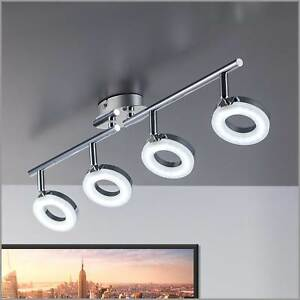 Led Kitchen Ceiling Lights Lamp Large 4 Spotlight Bar Modern Spot