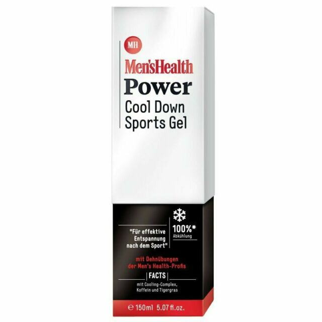 Men`s Health Power Cool Down Sports Gel 150 ml NEU!!!
