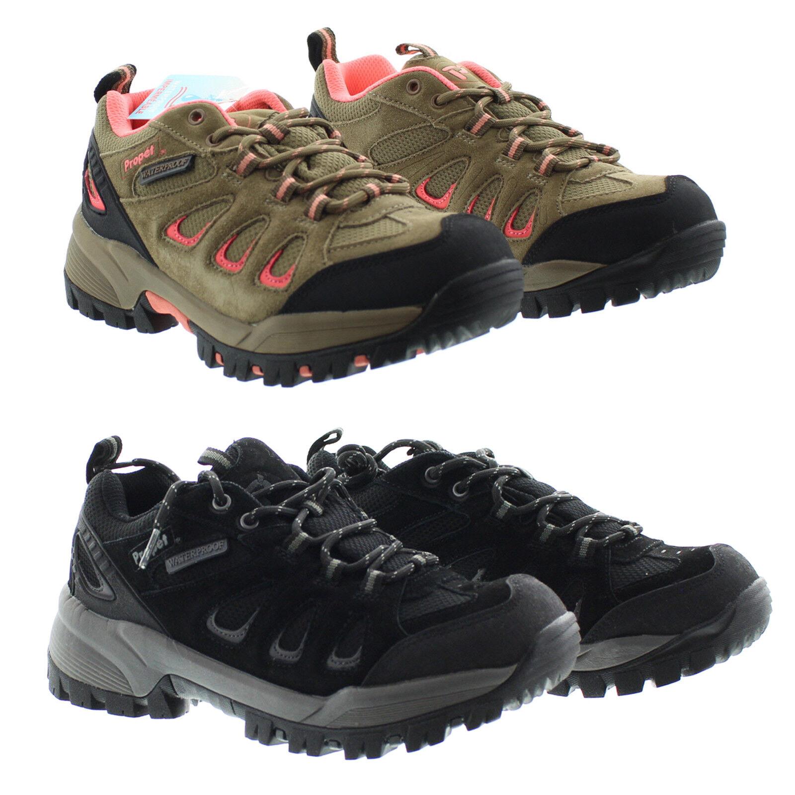 Propet W3598 Womens Leather Waterproof Ridgewalker Hiker Low Boots shoes