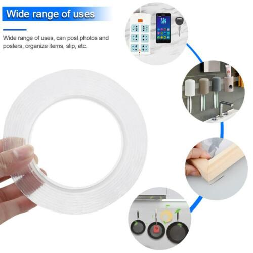 1M Magic nanotape Double-Sided Reusable tape Adhesive Nano Traceless Double Tape