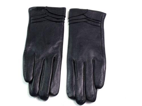 Damen Premium Hochwertig Echtes Weiches Leder Handschuhe Vollständig Gefüttert