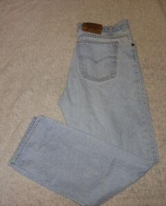 Vintage Mens Levi's Levi 509 Straight Leg Denim Jeans 36 x 30 ...