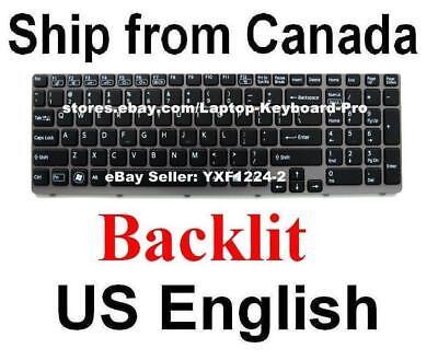 US Keyboard for SONY SVE151C11L SVE151D11L SVE151G11L SVE15113FDB SVE15117FDB