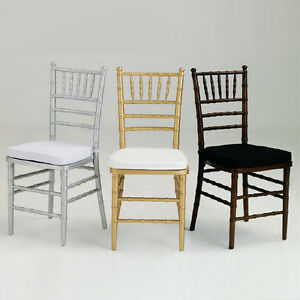 wood chiavari chairs - color choice - special events and weddings