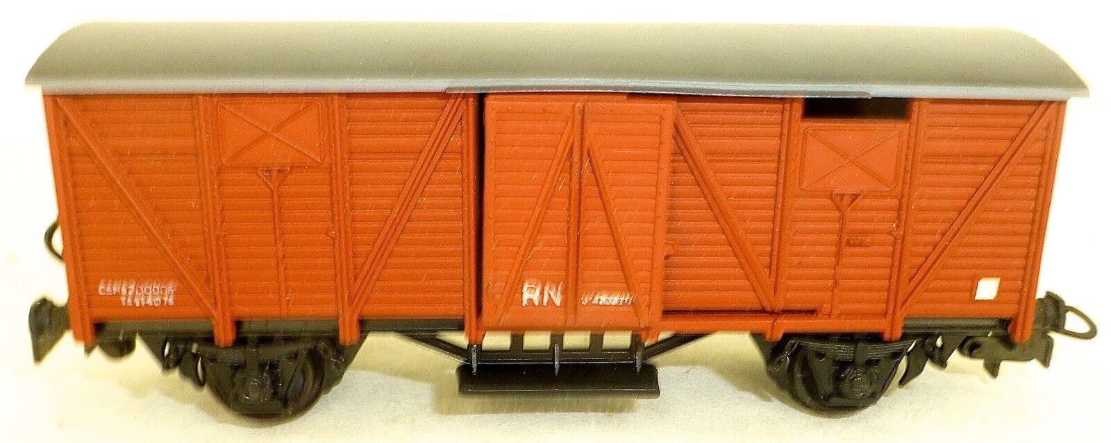RN Wagon de marchandise cougreen brun H0 1 87 Å