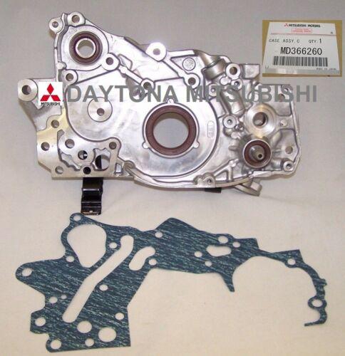 GENUINE MITSUBISHI  LANCER EVO 8 /& 9 OIL PUMP WITH GASKET OEM MD366260
