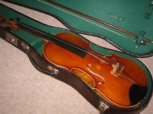 """100% Vrai De Haute Qualité Beau Vieux Violon """"georg Kiederle Coburg"""" Nice Old Violin Violon-afficher Le Titre D'origine En Quantité LimitéE"""