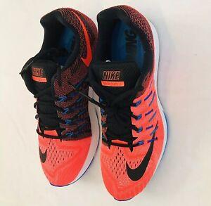 size 40 fd8fd 07f3e Details about Nike Air Zoom Elite 8 Men's Running Shoes Sz 14 748588 801  Total Crimson/Black