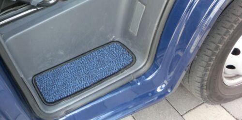 2002 E//1613 Schmutzfang Matten für Einstiege in 6 Farben Fiat Ducato 244 ab Bj