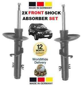 FOR BMW X3 E83 2004 > 2.0 2.5 3.0 XDRIVE 2x FRONT SHOCK SHOCKERS ABSORBER SET